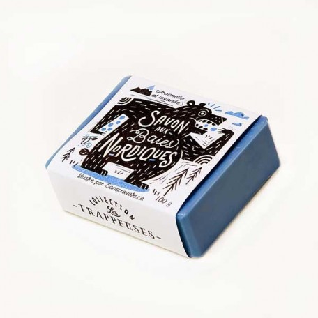 Soap Nordic Berries - Collection Les Trappeuses - La Looma
