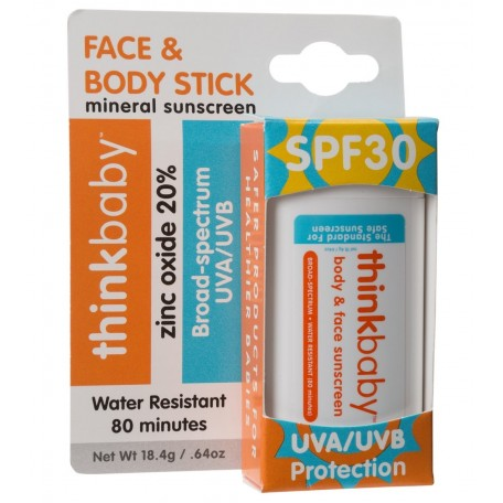 Natural Sunscreen Face & Body Stick - Thinkbaby