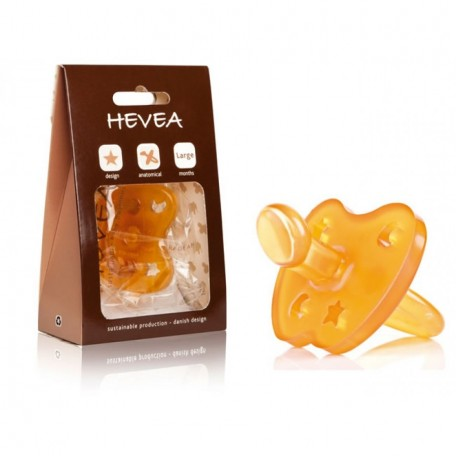Natural Rubber Round Pacifier - HEVEA - A completely recycled and compostable packaging