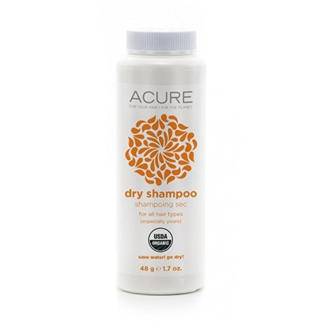 Natural Dry Shampoo - Acure - Front of the bottle