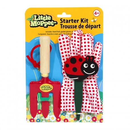 Gardening Starter Kit - Little Moppet - Red