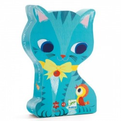 Pachat and his friends Puzzle 24 pieces - Djeco - Box