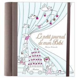 Le petit journal de mon Bébé - Éditions Marabout - Page couverture