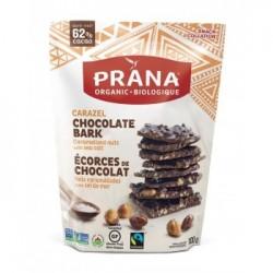 Carazel Écorces de chocolat Noix caramélisées et sel de mer - Prana - Sac