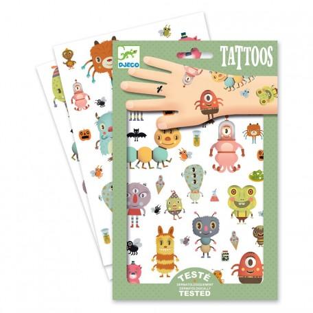 Tatouages Monstres - Djeco Djeco