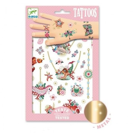 Fiona's Jewelry Tattoos - Djeco