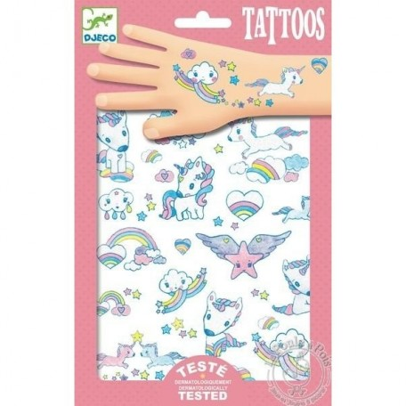 Unicorn Tattoos - Djeco