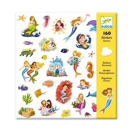 Mermaid Stickers - Djeco