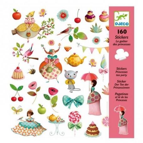 Stickers le goûter des Princesses - Djeco Djeco