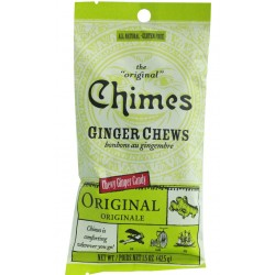 Ginger Chews 42g - Chimes - Original