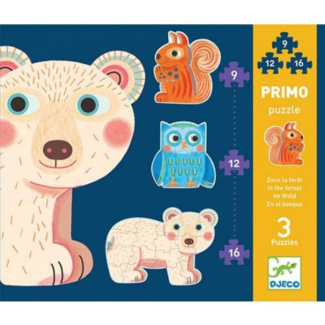 In the Forest Primo Puzzle - Djeco