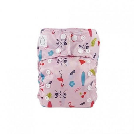 Kit 24 Pocket Hybrid Diaper - Omaiki