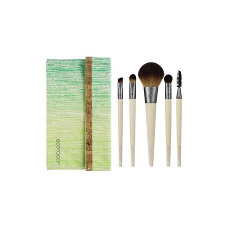 Six Piece Makeup Brush Collection - Ecotools