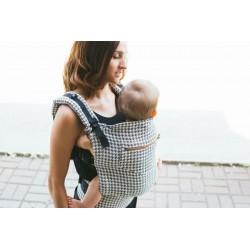 Porte-bébé de luxe Pied de poule - Gustine baby carriers Gustine baby carriers