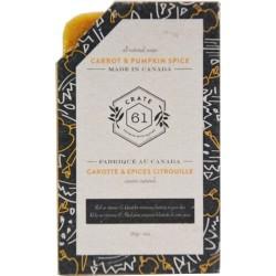 Savon Naturel Carotte & Épices Citrouille -  Crate 61