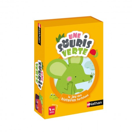 A Green Mouse Card Game - Nathan