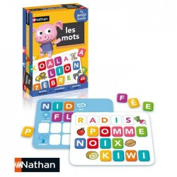 La petite école Les mots - Jeu de plateau éducatif - Nathan Nathan
