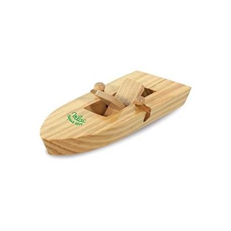 Bateau en bois à élastique - Vilac Vilac