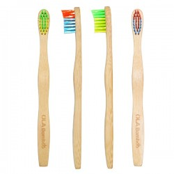 Bamboo Toothbrush for Children - Ola Bamboo
