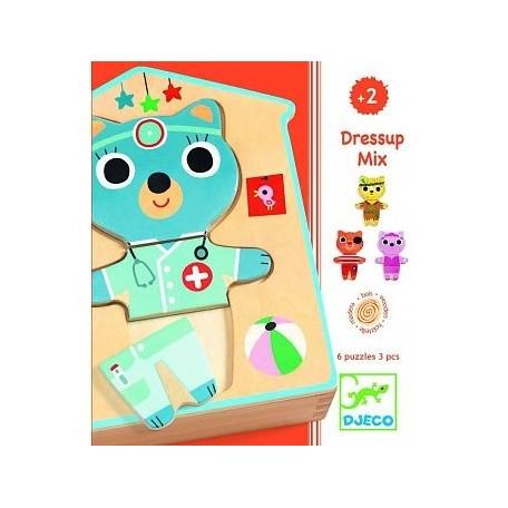 Dressup-Mix Puzzles - Djeco