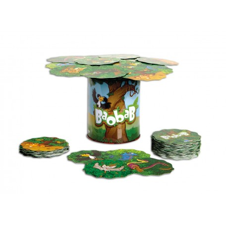 Baobab Balance Game - Blue Orange