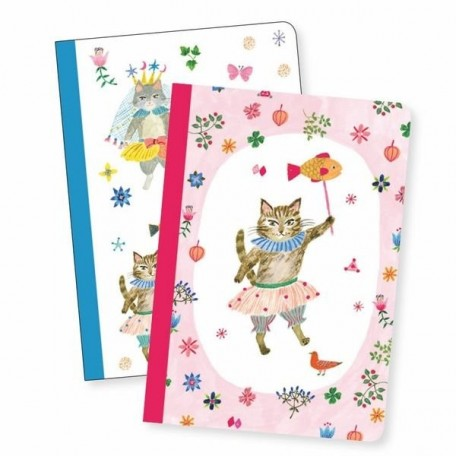 Lovely Paper Small Notebooks - Djeco - Aiko