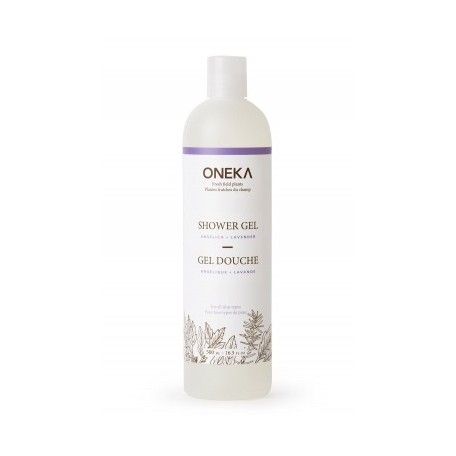 Angelica and Lavender Shower Gel - Oneka