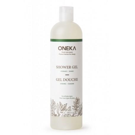 Cedar and Sage Shower Gel - Oneka
