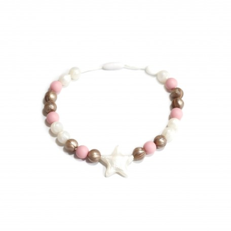 Teething necklace Stella - Bulle Bijouterie