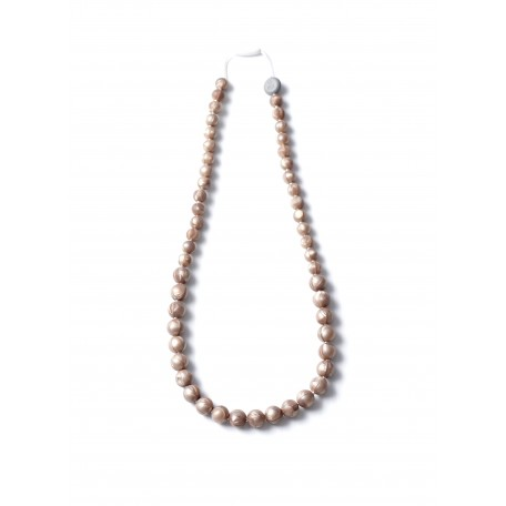 Teething necklace Maman chic pellets - Bulle Bijouterie