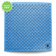 Large Reusable Patterned Paper Towel - Kliin - Blue Striated Plate