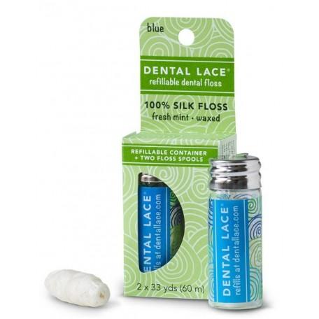 Soie dentaire biodégradable rechargeable - Dental Lace