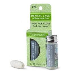 Soie dentaire biodégradable rechargeable - Dental Lace Dental Lace
