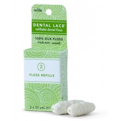 Recharge de soie dentaire biodégradable - Dental Lace Dental Lace