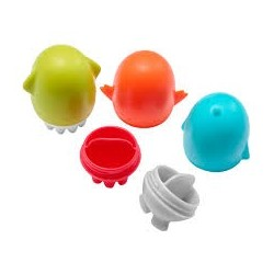 Interchangeable bath squirt toy set - Boon