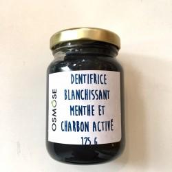 Dentifrice blanchissant Menthe et charbon activé - Osmose