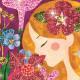 Tableaux à Pailleter Le parfum des fleurs - Djeco