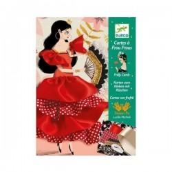 Flamenco Frilly Cards - Djeco