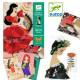Cartes à coudre Frou Frous Flamenco - Djeco Djeco