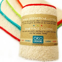100% Organic Cotton Washable Wipes - Oko Creations