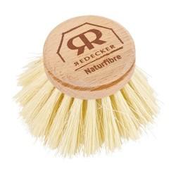 Hard-Bristled Dishbrush Replacement Head - Redecker