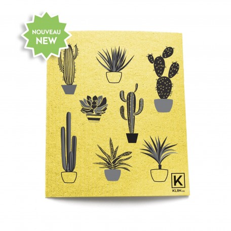 The Reusable Towel with patterns Cactus - Kliin