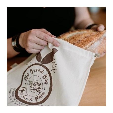 Sac à pain de conservation en chanvre - Ôko Créations Öko Créations