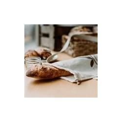 Hemp Reusable Baguette Bread Bag - Ôko Créations