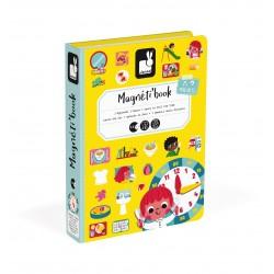Magnéti'book J'apprends l'heure, jeu magnétique - Janod