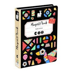 Magnéti'Book Moduloforme, jeu magnétique - Janod JANOD