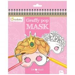Masques à colorier Princesses et autres personnages - Avenue Mandarine Avenue Mandarine