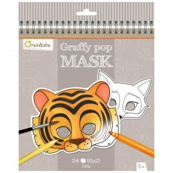 Graffy Pop Masks Animals - Avenue Mandarine