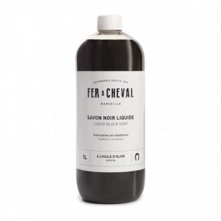 Savon noir liquide 1L - Fer À Cheval Fer à Cheval