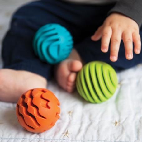 Balles de silicone sensorielles - Fat Brain Toy Fat Brain Toy